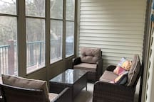 Sunroom sitting area - Unfortunately, this area is off limits to guests until further notice. 9/06/19 -PB