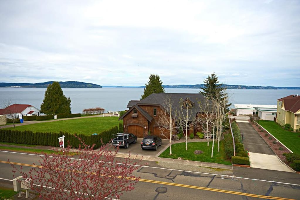 Panoramic view of Puget Sound.