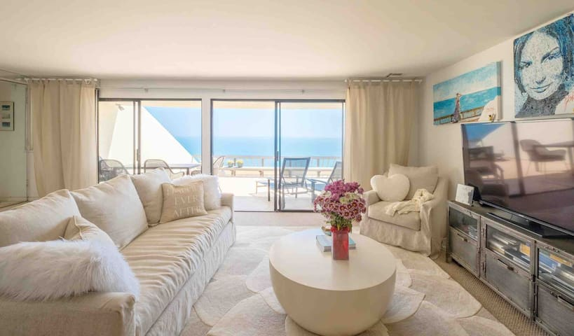 Malibu Ocean View 2 Bedroom/2 Bath with Terrace!