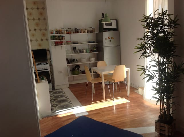 Downtown flat with terrace - Madrid - Apartment