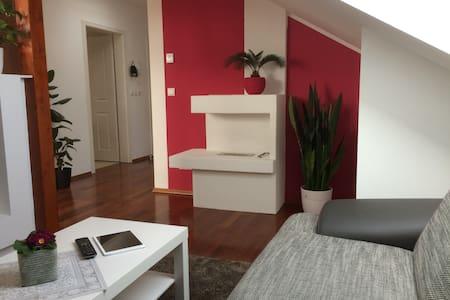Modernes + Luxuriöses Dachgeschoss