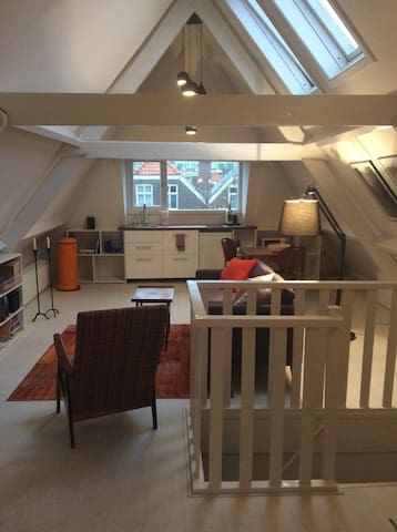 Lovely attic in The Hague's hippest - Den Haag - Apartment