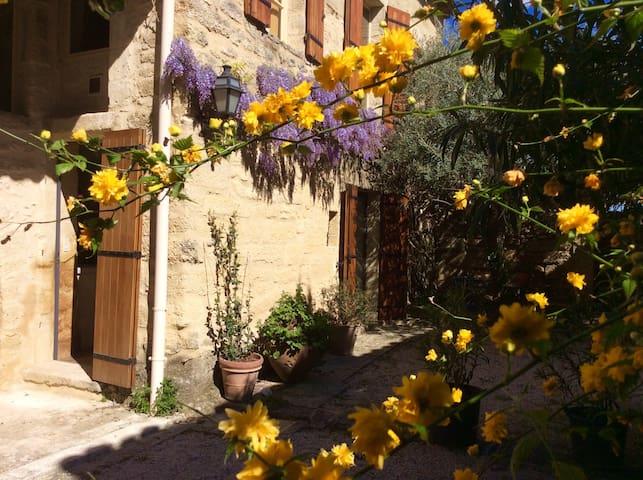 Garden studio in Saint-Siffret - Saint-Siffret - Wohnung