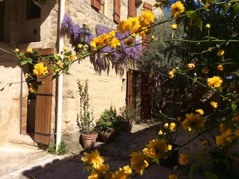 Studio jardin à Saint-Siffret