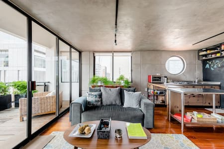 Embrace Outdoor Living at an Industrial-Inspired Escape