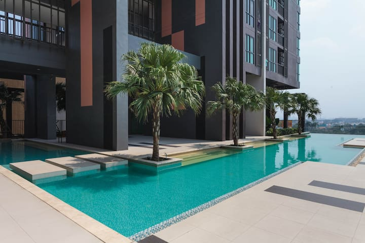 New 3BR Apartment near Impact - Pak Kret - Departamento