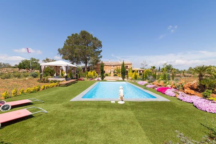 Villa with pool and a lovely garden in Sencelles - Palma - Villa