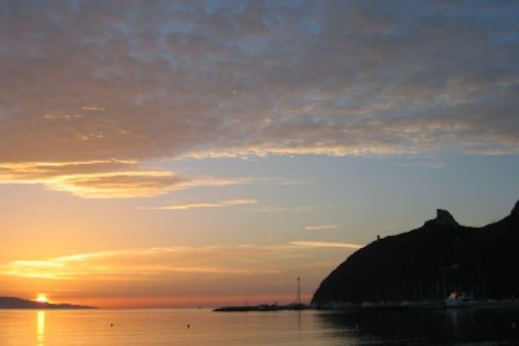 Poetto tramonto