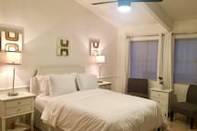 Duplex with separate up / down units  sleeps 10