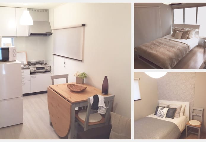 2MIN WALK  from JR TAMACHI STATION, MITA STATION