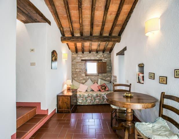Il Riccio, Medieval Apartment - Gaiole in Chianti - Apartment