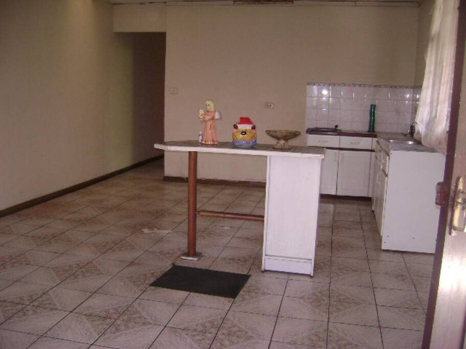 comedor cocina integrado