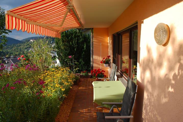Abendsonne Ferienwohnung  - Neckargemünd - Apartment