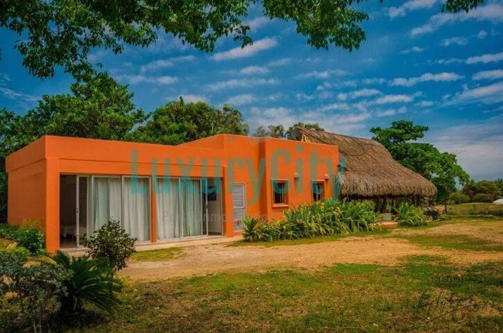 Cabaña hermosa en condominio Marina de Baru