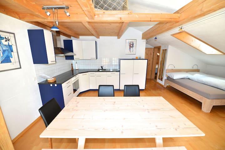 Terra Berni 2-Zimmer Dachwohnung 4P - Vals - Lägenhet