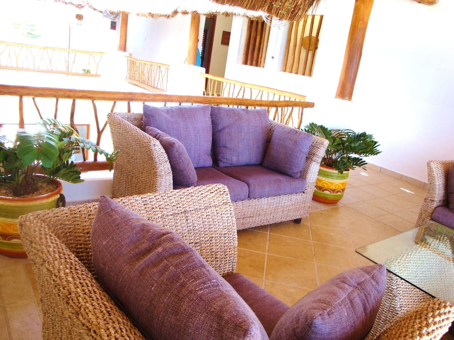 Upper level terrace - greatplace to relax