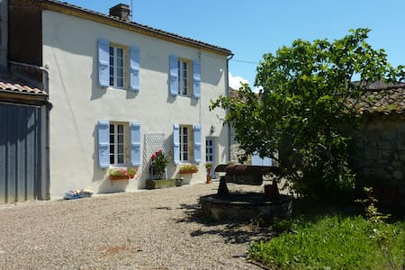 Newly Restored Old Farmhouse - Moncrabeau