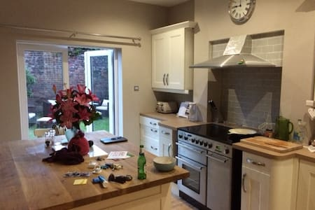Large double ensuite bedrooms in Victorian house - Eccles