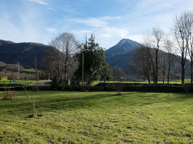 Grange+maison*** 12P face Pyrénées  - Arthez D'Asson