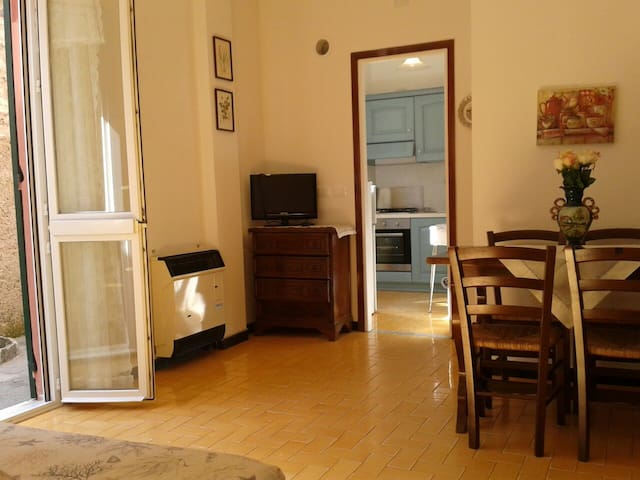 MONTEROSSO/5 TERRE APARTMENT WITH PARK,COURTYARD,