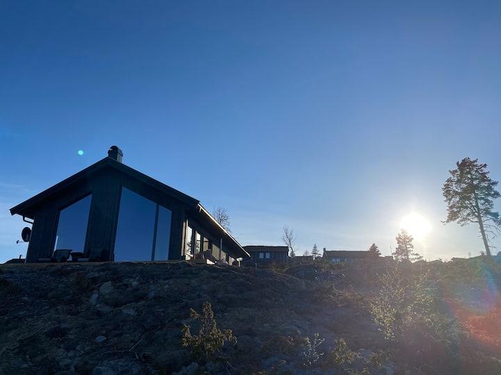Ny hytte på Lyseren, Nesbyen