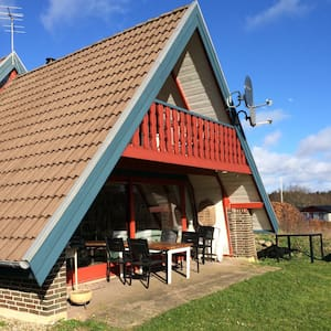 Cottage near forrest and beach - Roslev - Talo