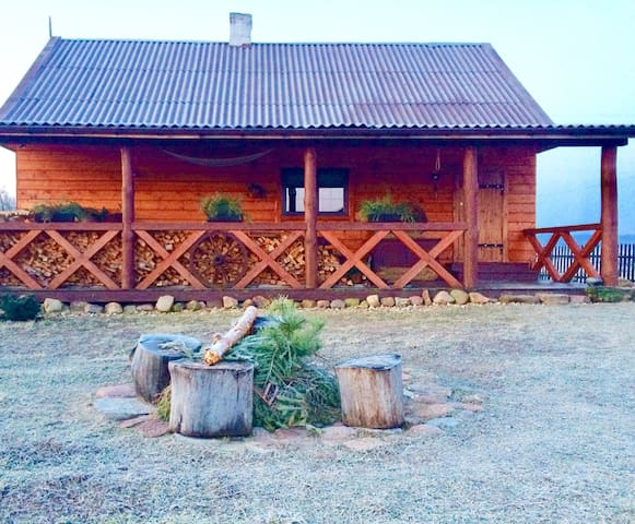 Cozy house in Bialowieza Forest