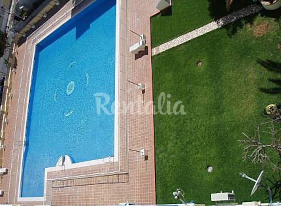 piscina del edificio (vistas)
