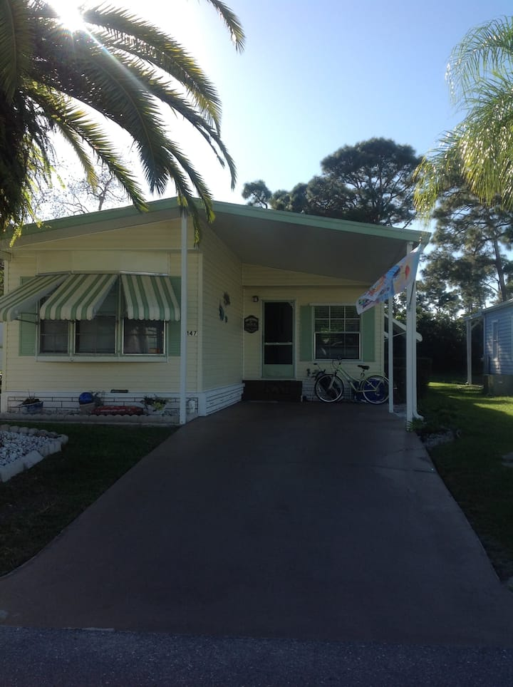 Mobile home for rent 55 yrs +