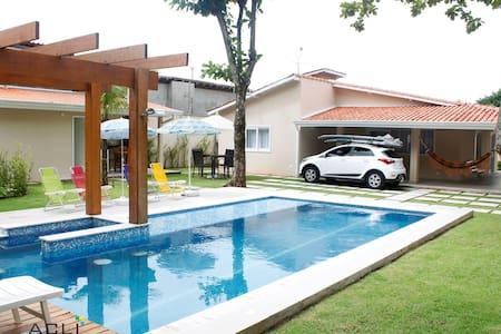 Conforto e segurança Juquehy Brasil - São Sebastião - บ้านดิน
