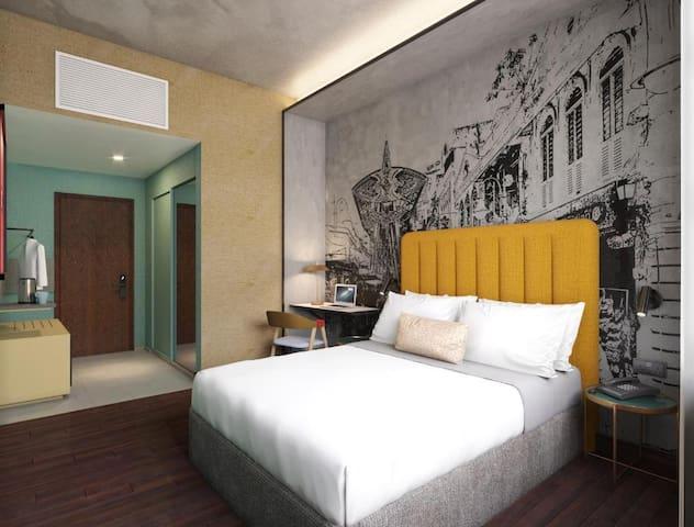 Fab Double Room In The Heart Of Kuala Lumpur