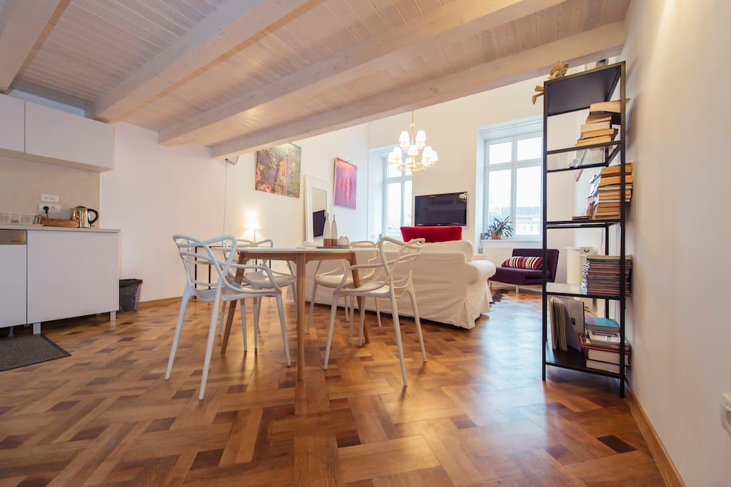 Studio l gant spacieux en duplex lofts louer - Loft cetatuia loft transparent en roumanie ...