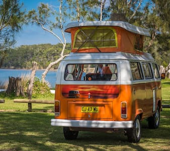 SelfDrive South Coast Holiday in a VW Kombi Camper - Malua Bay - Trailer
