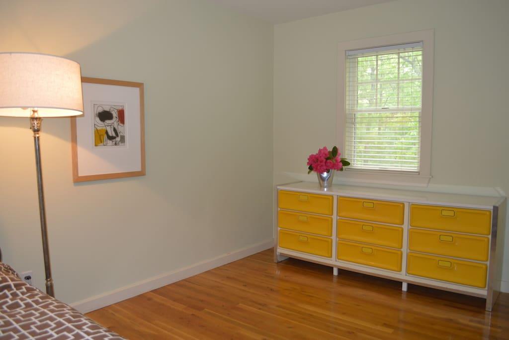 Guest bedroom/study on first floor