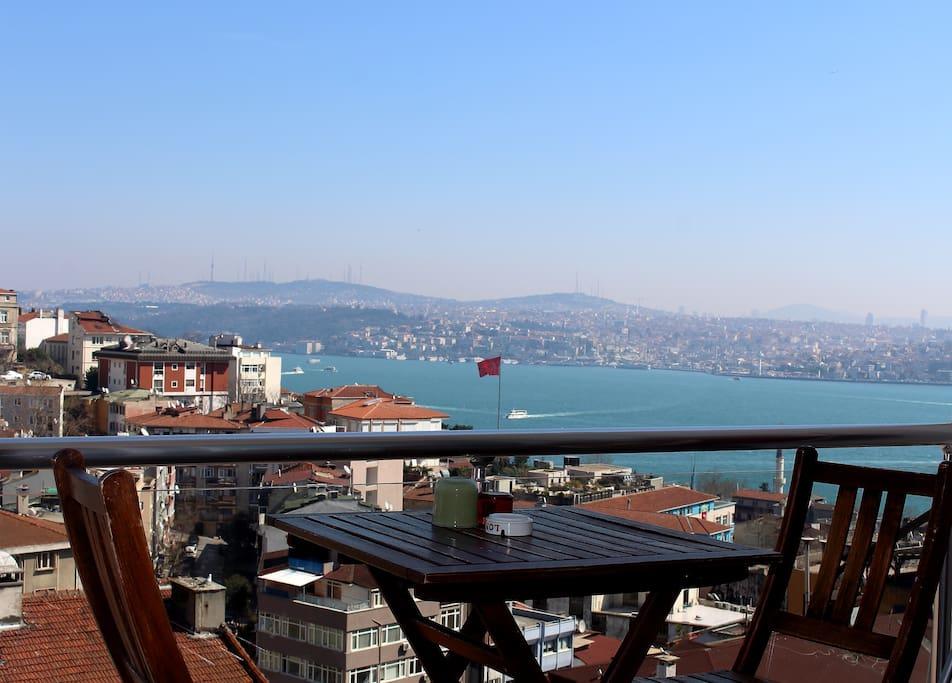Nice Bosphorus view.