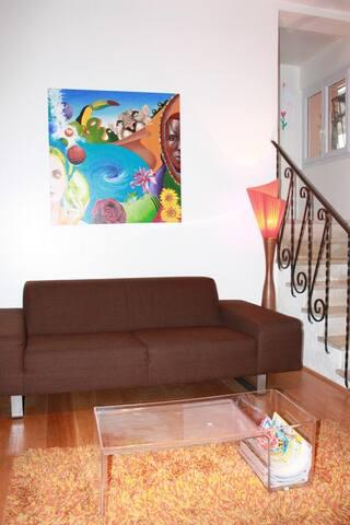 Maison spacieuse et chaleureuse - บอร์กโดซ์ - บ้าน