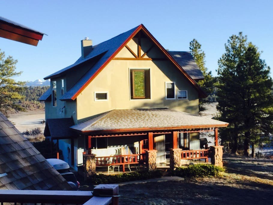 expansive views on national forest houses for rent in
