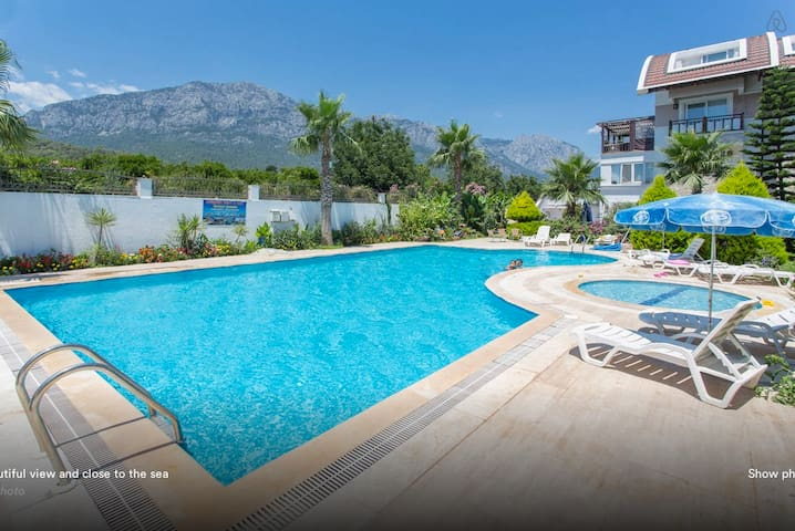 Steps from the sea with great view - Kemer - Departamento