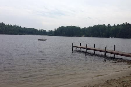 Lakefront Cabin (8 private acres)  - South Waterford