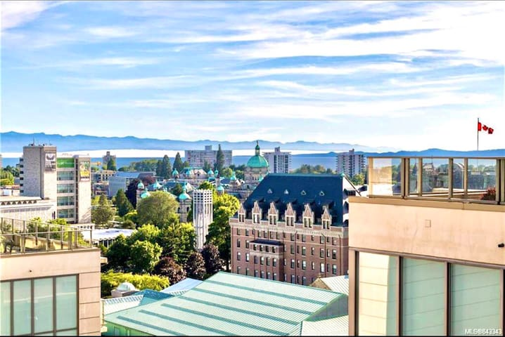 Luxe Downtown Condo With  Stunning Views !!