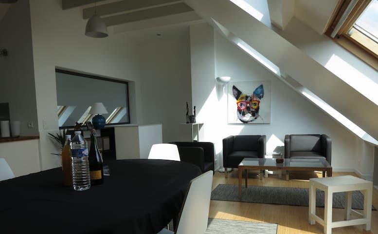 Appartement avec jardin bord de mer - Plovan