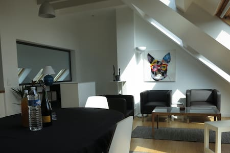Appartement avec jardin bord de mer - Apartamento