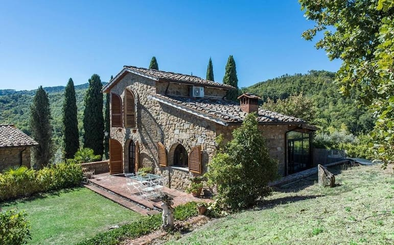 Villa Rendola - Beautiful villa w/garden, Chianti - 589821e6