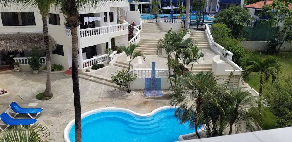 Large studio apartment in Sosua