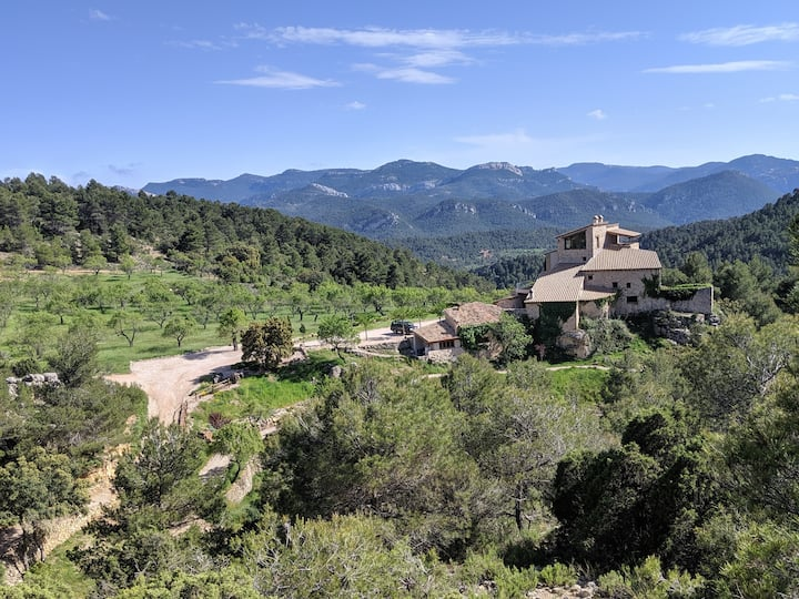 Country House in Spain's Secret Wilderness