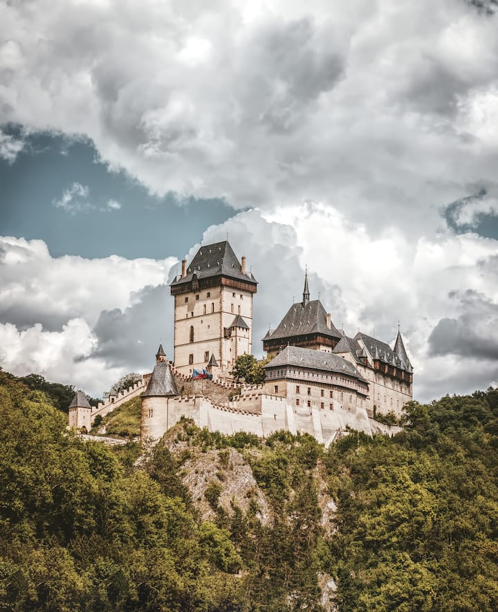 14th century Karlstejn castle