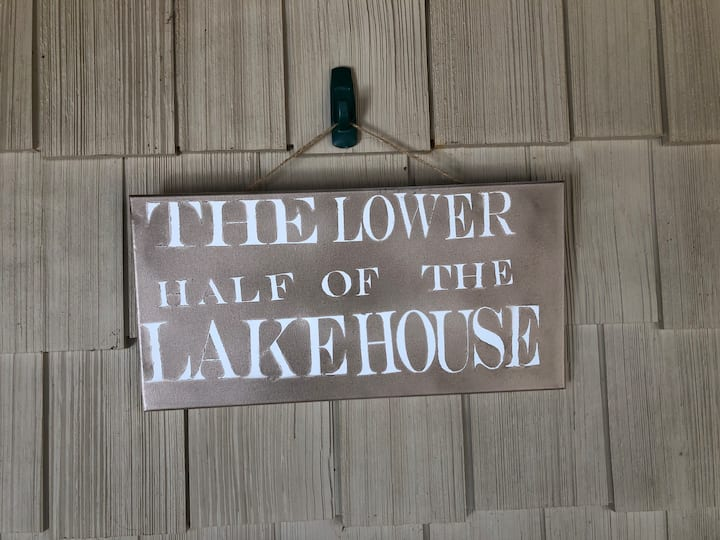 Lower Half of Lake House