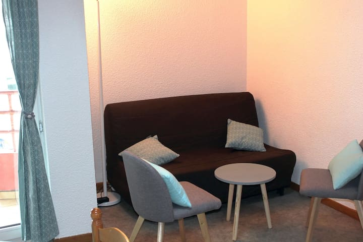 Studio mezzanine, centre ville 25 m² 2/4 personnes