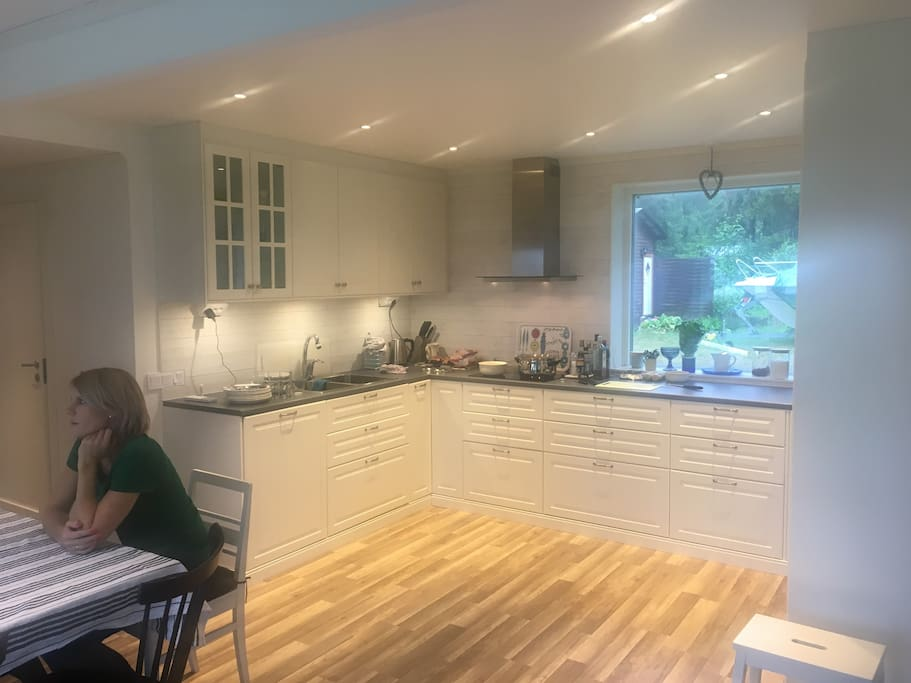 Fully equipped kitchen (renovated 2018)