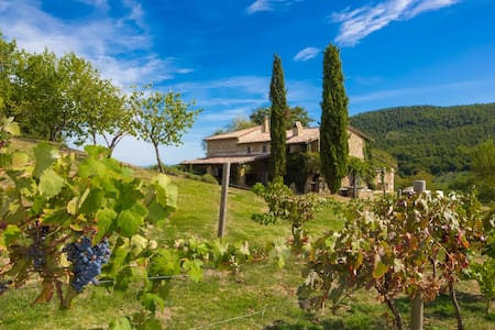 Luxury Tuscan countryside villa with pool/WiFi/AC - Villa